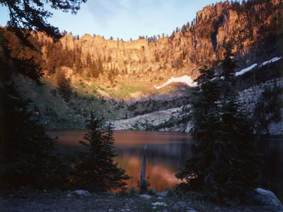 Bear River Range, Cache National Forest, Upper Bloomington Lake, Idaho, USA