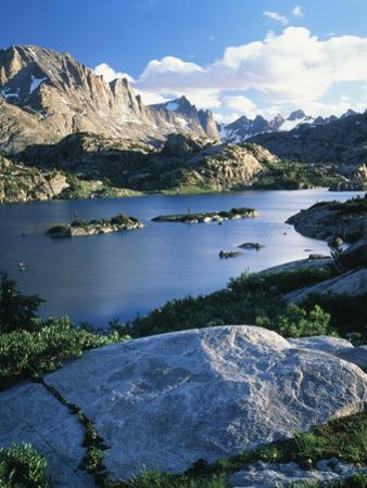 Bridger Wilderness with Island Lake, Wyoming, USA
