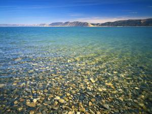 Pebbles in Bear Lake, Near Rendezvous Beach, Utah, USA by Scott T^ Smith