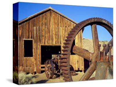 Rusting Machinery, Ghost Town of Berlin. Berlin-Ichthyosaur SP, Nevada