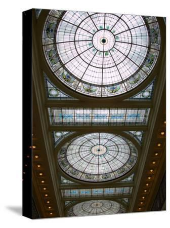 Skylights in Penn Station, Baltimore, Maryland, USA