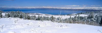 Snow above Bear Lake in the Wasatch-Cache National Forest, Utah, USA by Scott T. Smith