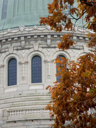United States Naval Academy, Dome of Chapel on Campus, Annapolis, Maryland, USA by Scott T. Smith