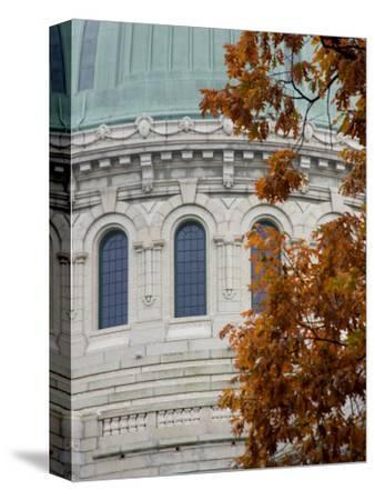 United States Naval Academy, Dome of Chapel on Campus, Annapolis, Maryland, USA