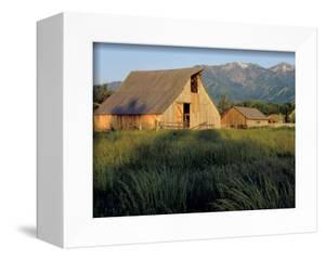 Utah, Cache Valley. Buildings of the Ronald Jensen Historical Farm by Scott T. Smith