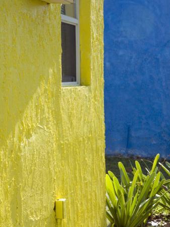 Colorful Buildings at a Tropical Andros Island Getaway by Scott Warren