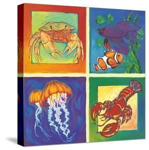 Sea Life Panel I by Scott Westmoreland