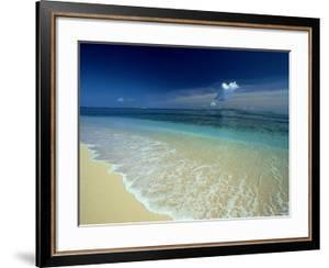 Empty Beach, S.W. Fiji Islands by Scott Winer