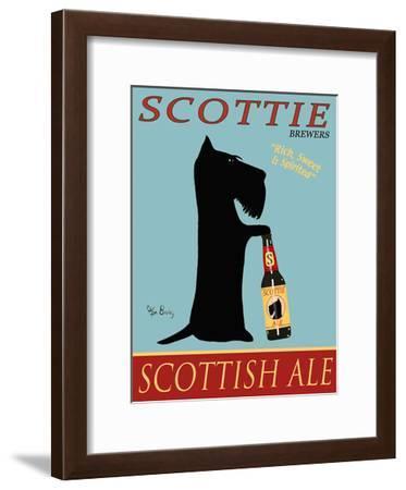 Scottie Scottish Ale-Ken Bailey-Framed Collectable Print