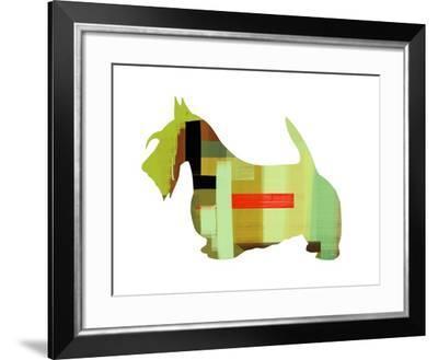 Scottish Terrier-NaxArt-Framed Art Print