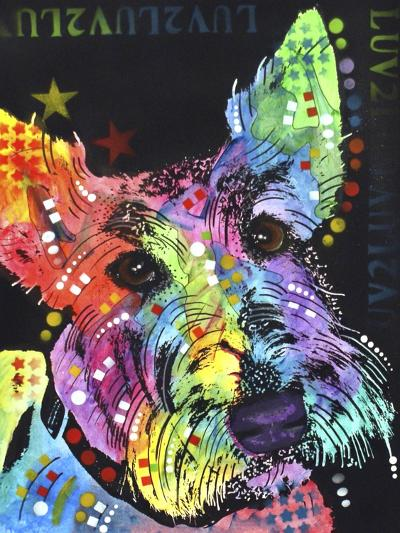Scottish Terrier-Dean Russo-Giclee Print