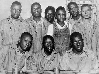 'Scottsboro Boys' in Jefferson County Jail, Birmingham--Photo
