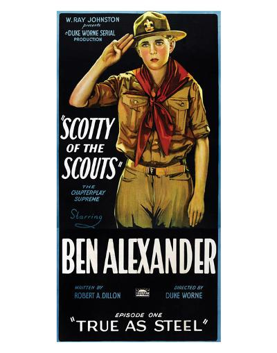 Scotty Of The Scouts - 1926--Giclee Print