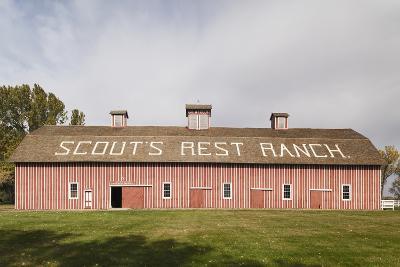 Scout's Rest Ranch, North Platte, Nebraska, USA-Walter Bibikow-Photographic Print