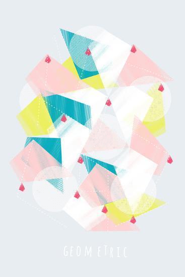 Scramble-Myriam Tebbakha-Giclee Print