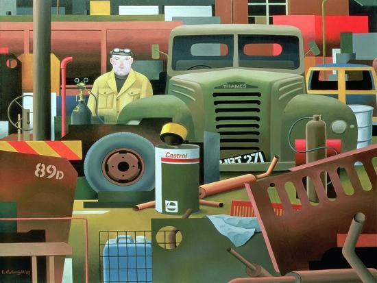 Scrap Merchant, 1983-Reg Cartwright-Giclee Print