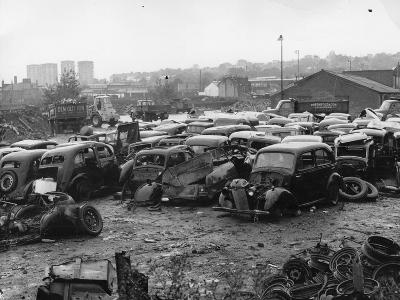 Scrap Yard-Gerry Dalton-Photographic Print