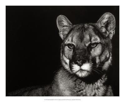Scratchboard Nightfall-Julie Chapman-Giclee Print
