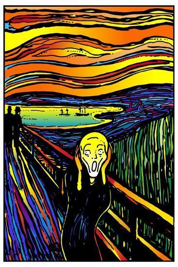 Scream 2-Howie Green-Giclee Print