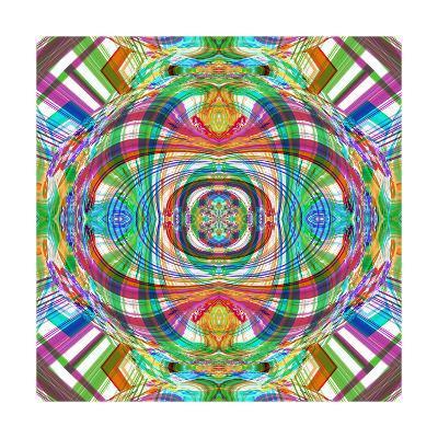 Screaming Mandala-Alaya Gadeh-Art Print