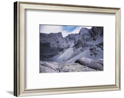 Screes in Coire Lagan, Cuillin Hills, Isle of Skye, Scotland, 20th century-CM Dixon-Framed Photographic Print