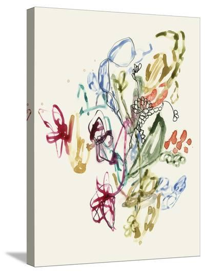 Scribble Arrangement II-Jennifer Goldberger-Stretched Canvas Print