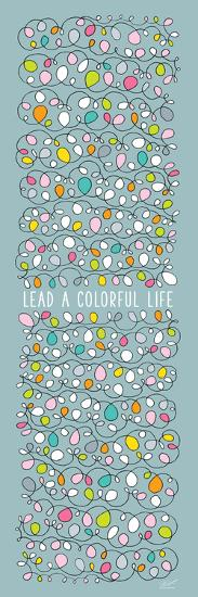 Scribble - Colorful Life-Dominique Vari-Art Print