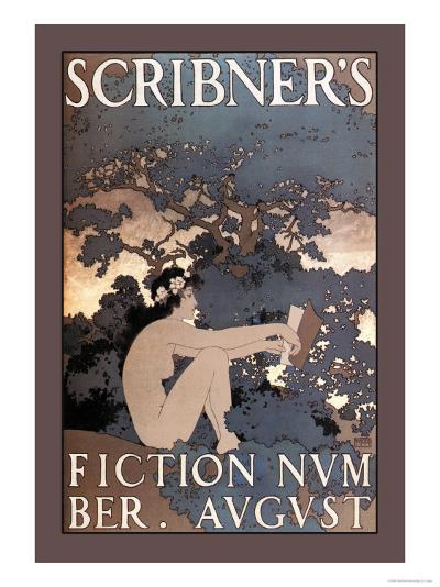 Scribner's Fiction, August 1897-Maxfield Parrish-Art Print