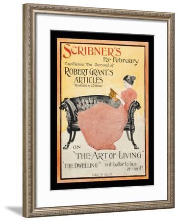 Scribner's for February--Framed Art Print