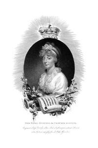 Her Royal Highness the Princess Augusta, Second Daughter of George Iii, 1806 by Scriven