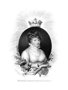 Her Royal Highness the Princess Elizabeth, 3rd Daughter of George Iii, 1806 by Scriven