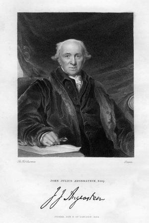 John Julius Angerstein (1735-182), English Philanthropist and Merchant