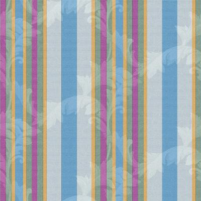 Scroll Stripe Grey-Bill Jackson-Giclee Print