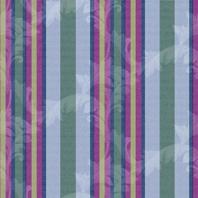 Scroll Stripe Periwinkle-Bill Jackson-Giclee Print