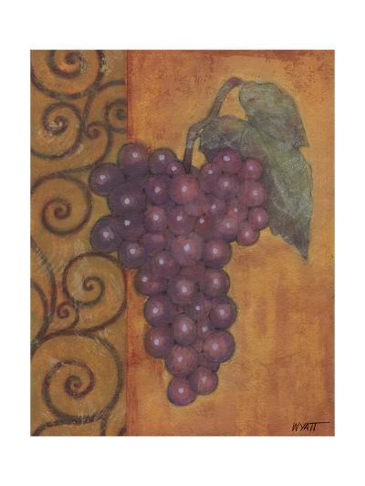 Scrolled Grapes I-Norman Wyatt, Jr^-Art Print