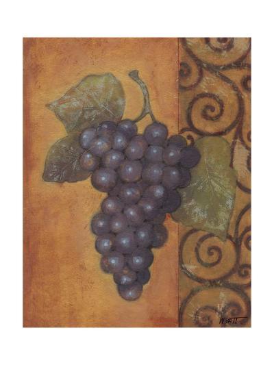 Scrolled Grapes II-Norman Wyatt, Jr^-Art Print