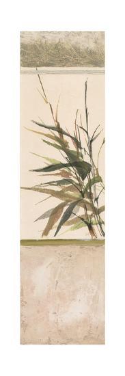 Scrolled Textural Grass III-Chris Paschke-Art Print