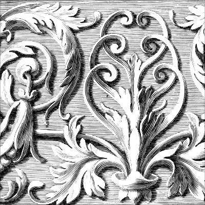 Sculptural Detail II-Vision Studio-Art Print