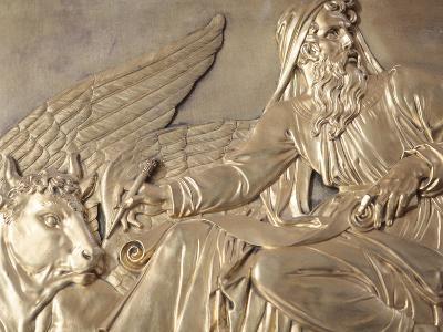 Sculpture Depicting St. Luke the Evangelist, Saint-Louis Des Invalides Church, Paris, France, Europ-Godong-Photographic Print