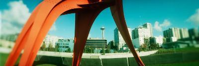 Sculpture in a Park, Olympic Sculpture Park, Seattle Art Museum, Seattle, King County, Washington--Photographic Print