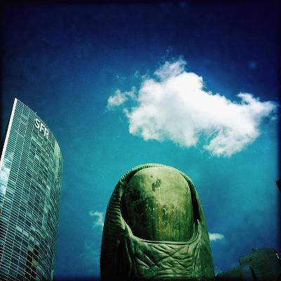 Sculpture in Paris-Craig Roberts-Photographic Print