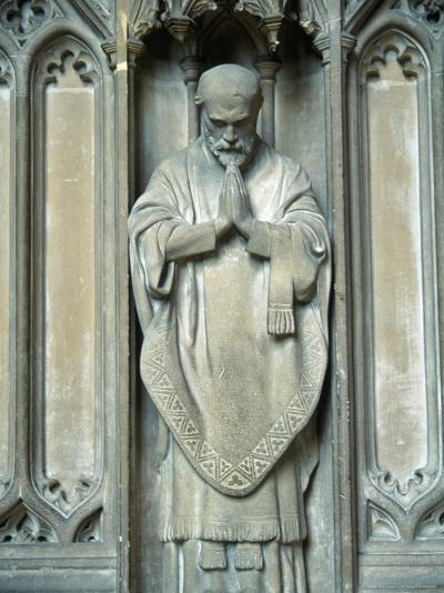 Sculpture of a Saint, UK-Ron Russell-Photographic Print