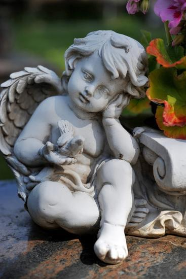 Sculpture of an Angel-Frank May-Photo