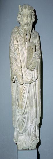 Sculpture of Moses. Artist: Unknown-Unknown-Giclee Print