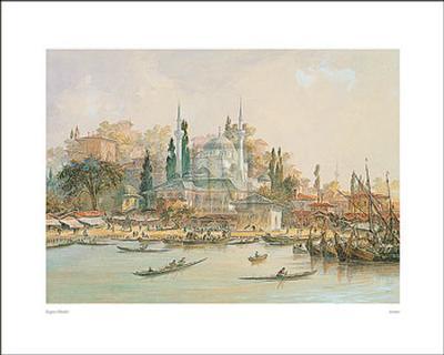 Scutari-Eugene Napoleon Flandin-Art Print