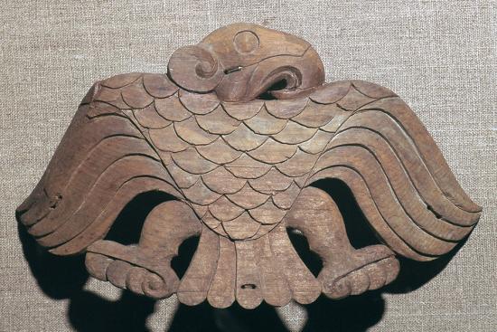 Scythian cedar wood saddle ornament, 5th century BC. Artist: Unknown-Unknown-Giclee Print
