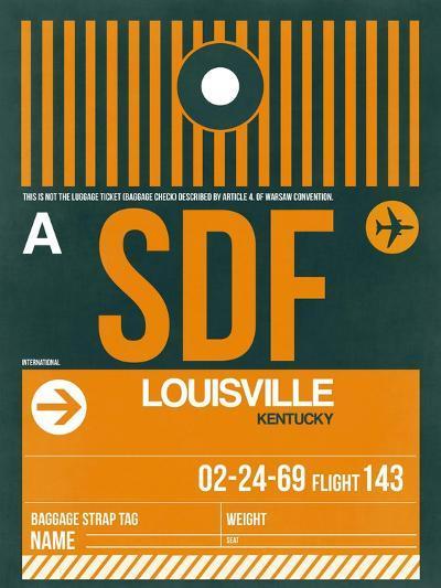 SDF Louisville Luggage Tag I-NaxArt-Art Print