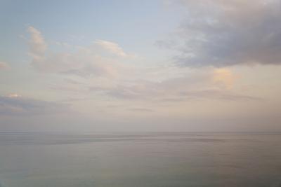 Sea and Sky, Rhodes, Greece-Peter Adams-Photographic Print