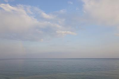 Sea and Skyscape, Rhodes, Greece-Peter Adams-Photographic Print