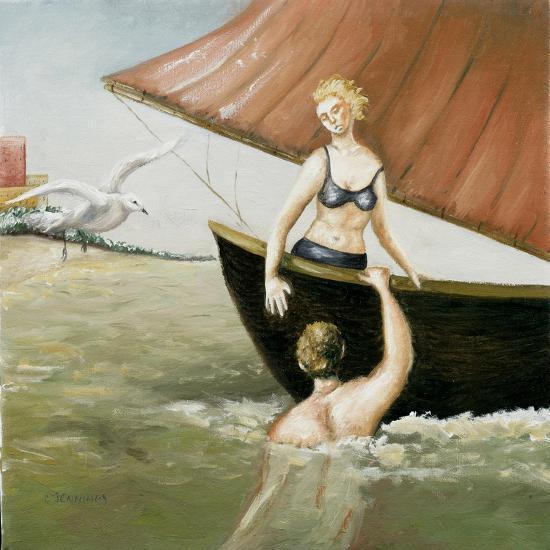 Sea Annunciation, 2-Caroline Jennings-Giclee Print